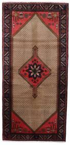 Koliai Teppich  92X198 Echter Orientalischer Handgeknüpfter Läufer Dunkelbraun/Braun (Wolle, Persien/Iran)