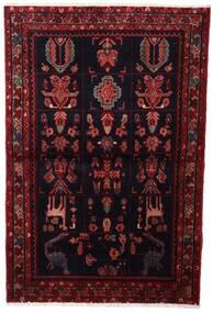 Asadabad Teppich  107X160 Echter Orientalischer Handgeknüpfter Dunkelrot (Wolle, Persien/Iran)