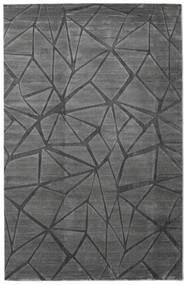 Patio - Grau Teppich  200X300 Moderner Dunkelgrau/Schwartz ( Türkei)