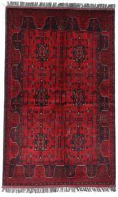Afghan Khal Mohammadi Teppich  122X194 Echter Orientalischer Handgeknüpfter Dunkelrot/Rot (Wolle, Afghanistan)