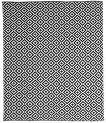 Torun - Schwarz/Neutral Teppich  250X300 Echter Moderner Handgewebter Dunkelgrau/Hellgrau Großer (Baumwolle, Indien)