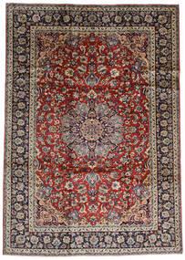 Najafabad Teppich  243X338 Echter Orientalischer Handgeknüpfter Dunkelrot/Dunkelbraun (Wolle, Persien/Iran)