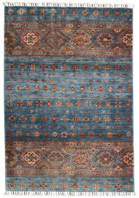 Shabargan Teppich  103X152 Echter Moderner Handgeknüpfter Hellgrau/Dunkelgrau (Wolle, Afghanistan)