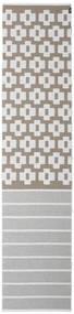 Siri - Beige Teppich 70X300 Moderner Läufer Hellgrau ( Schweden)