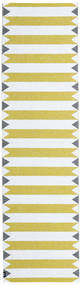 Outdoor-Teppich Circus - Gelb Teppich 70X250 Moderner Läufer Beige/Gelb ( Schweden)