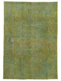 Vintage Heritage Teppich 232X331 Echter Moderner Handgeknüpfter Hell Grün/Olivgrün (Wolle, Persien/Iran)