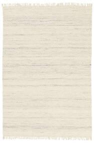 Chinara - Natural/Weiß Teppich  200X300 Echter Moderner Handgewebter Beige (Wolle, Indien)