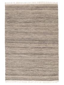 Chinara - Braun/Weiß Teppich  160X230 Echter Moderner Handgewebter Braun/Beige (Wolle, Indien)