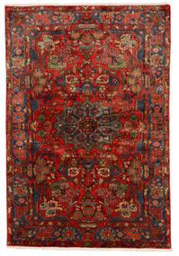 Nahavand Old Teppich  150X222 Echter Orientalischer Handgeknüpfter Dunkelrot/Dunkelbraun (Wolle, Persien/Iran)