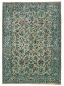 Afghan Exclusive Teppich  245X337 Echter Moderner Handgeknüpfter Dunkelgrau/Türkisblau (Wolle, Afghanistan)