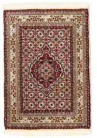 Moud Teppich 60X86 Echter Orientalischer Handgeknüpfter (Wolle/Seide, Persien/Iran)