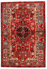Koliai Teppich  130X193 Echter Orientalischer Handgeknüpfter Dunkelrot/Rost/Rot (Wolle, Persien/Iran)