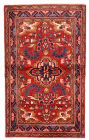 Lillian Teppich  102X168 Echter Orientalischer Handgeknüpfter Rost/Rot/Dunkellila (Wolle, Persien/Iran)