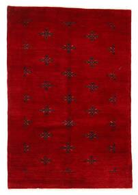 Huttan Teppich  125X183 Echter Orientalischer Handgeknüpfter Dunkelrot (Wolle, Pakistan)