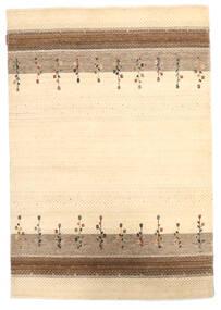 Loribaf Loom Teppich  124X180 Echter Moderner Handgeknüpfter Beige/Dunkel Beige (Wolle, Indien)