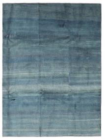 Gabbeh Persisch Teppich  217X290 Echter Moderner Handgeknüpfter Blau/Hellblau (Wolle, Persien/Iran)
