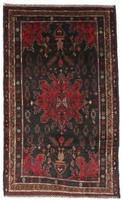 Belutsch Teppich  111X186 Echter Orientalischer Handgeknüpfter Dunkelbraun/Dunkelrot (Wolle, Afghanistan)