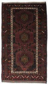 Belutsch Teppich  107X188 Echter Orientalischer Handgeknüpfter Dunkelbraun/Dunkelrot (Wolle, Afghanistan)