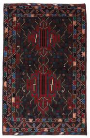 Belutsch Teppich  115X182 Echter Orientalischer Handgeknüpfter Dunkelrot (Wolle, Afghanistan)