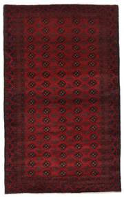 Belutsch Teppich  127X211 Echter Orientalischer Handgeknüpfter Dunkelrot/Dunkelbraun (Wolle, Afghanistan)