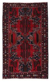 Belutsch Teppich  114X188 Echter Orientalischer Handgeknüpfter Dunkelrot (Wolle, Afghanistan)