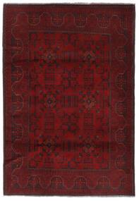 Afghan Khal Mohammadi Teppich  129X192 Echter Orientalischer Handgeknüpfter Dunkelrot (Wolle, Afghanistan)