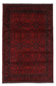 Afghan Khal Mohammadi Teppich  127X195 Echter Orientalischer Handgeknüpfter Dunkelrot (Wolle, Afghanistan)