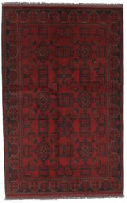 Afghan Khal Mohammadi Teppich  126X197 Echter Orientalischer Handgeknüpfter Schwartz (Wolle, Afghanistan)