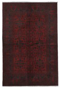 Afghan Khal Mohammadi Teppich  125X194 Echter Orientalischer Handgeknüpfter Schwartz/Weiß/Creme (Wolle, Afghanistan)