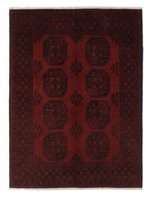 Afghan Teppich  149X204 Echter Orientalischer Handgeknüpfter Schwartz/Weiß/Creme (Wolle, Afghanistan)
