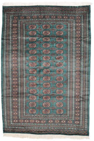 Pakistan Buchara 2Ply Teppich  159X229 Echter Orientalischer Handgeknüpfter Schwartz/Dunkelbraun (Wolle, Pakistan)