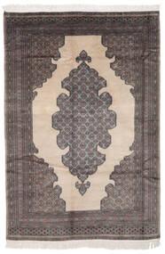 Pakistan Buchara 2Ply Teppich  154X219 Echter Orientalischer Handgeknüpfter Schwartz/Dunkelbraun (Wolle, Pakistan)