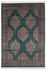 Pakistan Buchara 2Ply Teppich  151X226 Echter Orientalischer Handgeknüpfter Schwartz (Wolle, Pakistan)
