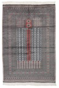 Pakistan Buchara 2Ply Teppich  129X189 Echter Orientalischer Handgeknüpfter Schwartz/Braun (Wolle, Pakistan)