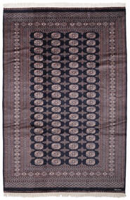 Pakistan Buchara 2Ply Teppich  189X282 Echter Orientalischer Handgeknüpfter Dunkellila/Dunkelbraun/Schwartz (Wolle, Pakistan)
