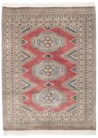 Pakistan Buchara 2Ply Teppich  130X171 Echter Orientalischer Handgeknüpfter Dunkelbraun/Dunkelrot (Wolle, Pakistan)