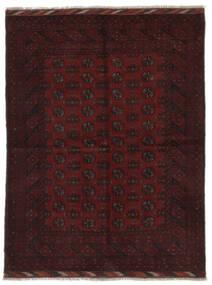 Afghan Teppich  166X219 Echter Orientalischer Handgeknüpfter Schwartz (Wolle, Afghanistan)