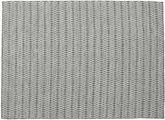 Kelim Long Stitch - Schwarz / grau