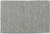 Kelim Honey Comb - Schwarz / grau