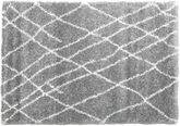 Shaggy Tangier - grau / Weiß